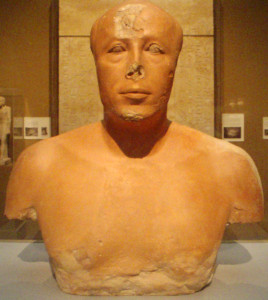Bust of Ankh-haf (MFA 27.442), photo by K. Schengili-Roberts